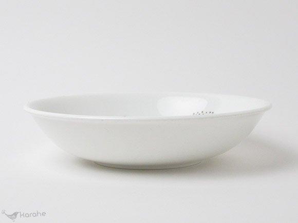 Gustavsberg Emma スーププレート 19.5cm ブラウン