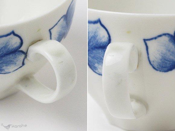 Arabia Rinki コーヒーカップ&ソーサー ブルー