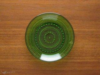 Nuutajarvi Arabia Kastehelmi プレート 14cm グリーン
