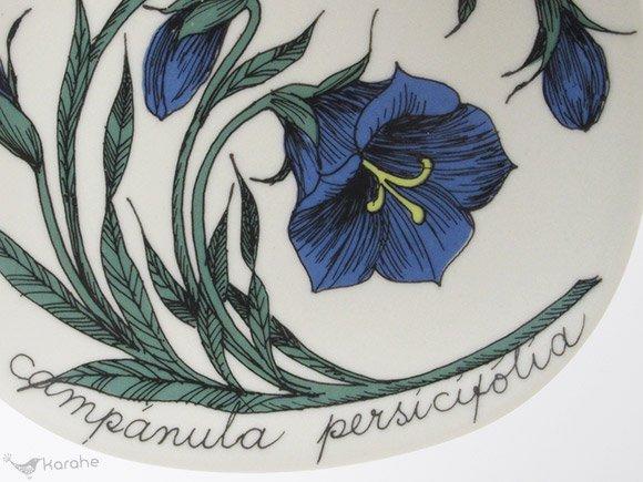 Arabia Botanica ウォールプレート Campanula persicifolia