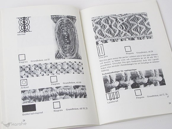 Makrame Studiehandledning / マクラメ編みの本