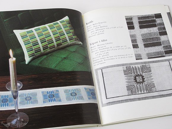 Broderat - materialbundna somsatt / スウェーデン 刺繍の本