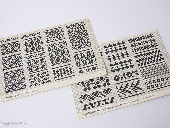 Vaevemonstre for alle slags vaeve / 織りのパターン集