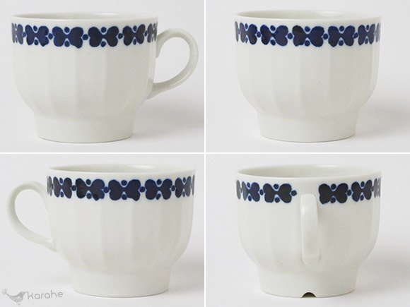 Arabia Elvikki コーヒーカップ ブルー(カップのみ)