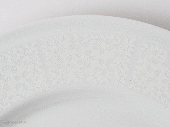 Arabia Pitsi プレート 17cm ホワイト