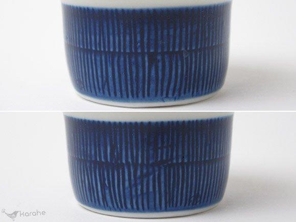 Rorstrand Koka エッグカップ ブルー