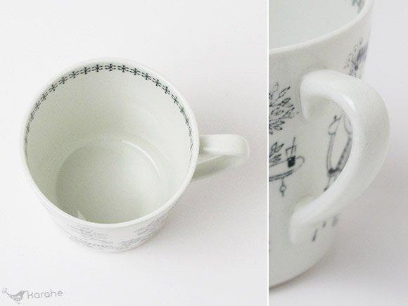 Arabia Emilia コーヒーカップ(カップのみ)