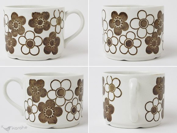 Rorstrand Anemon コーヒーカップ&ソーサー