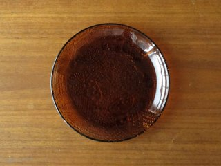 Nuutajarvi Arabia Fauna プレート 17.5cm ブラウン