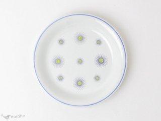 Arabia プレート 19.5cm 白いお花