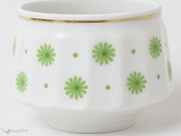 Arabia Roksana コーヒーカップ&ソーサー グリーン