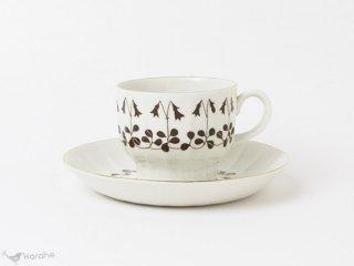 Arabia Vanamo コーヒーカップ&ソーサー ブラウン