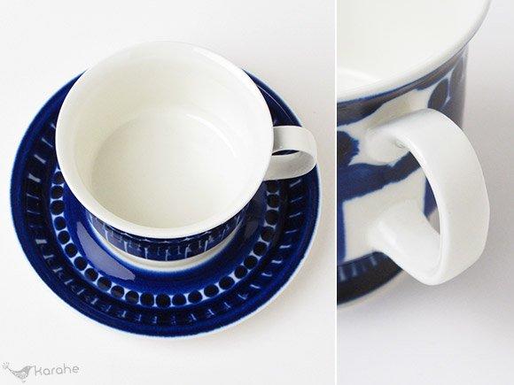 Arabia Valencia コーヒーカップ&ソーサー