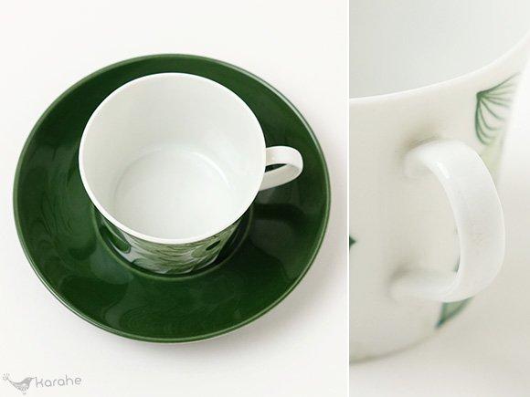 Rorstrand Fia コーヒーカップ&ソーサー グリーン