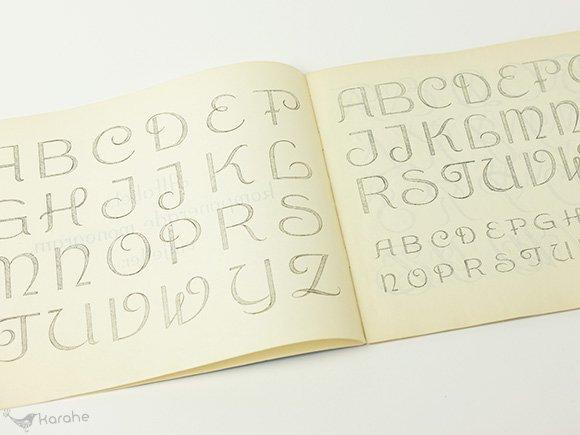 Alfabet Monogrambok / スウェーデン 刺繍図案集