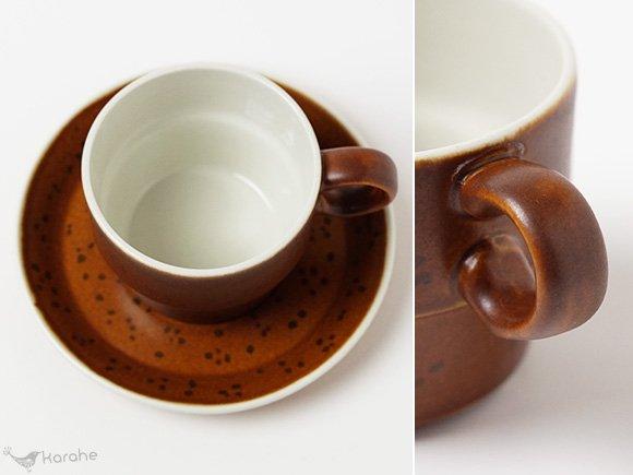 Gustavsberg Coq コーヒーカップ&ソーサー