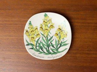 Arabia Botanica ウォールプレート Kannusruoho / Linaria vulgaris(ホソバウンラン)