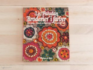 Broderier i farver / デンマーク 刺繍の本