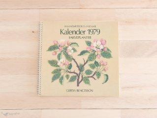 Kalender 1979 / Fremme クロスステッチカレンダー