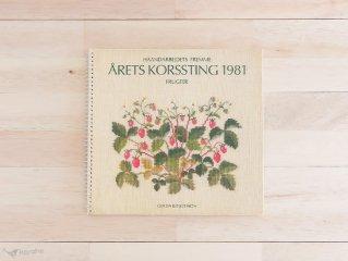 Arets korssting 1981 / Fremme クロスステッチカレンダー