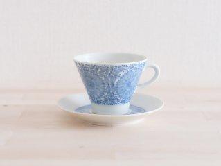 Arabia Filigran コーヒーカップ&ソーサー ブルー