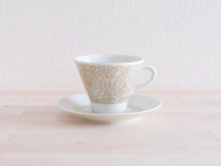 Arabia Filigran コーヒーカップ&ソーサー ゴールド