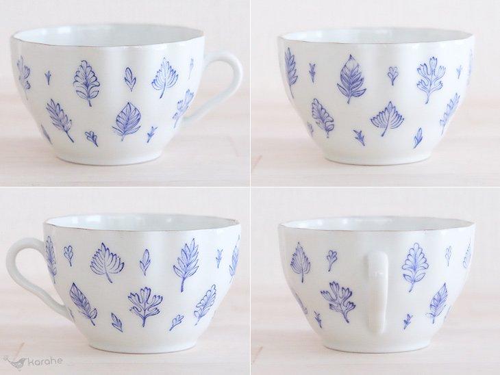 Arabia Aulikki コーヒーカップ&ソーサー ブルー
