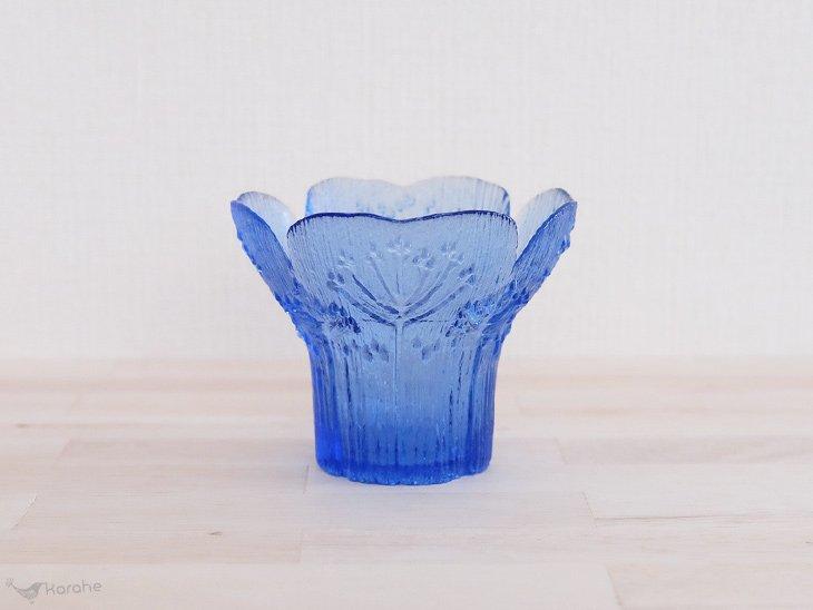 Mantsalan Lasisepat Koiranputki ベース ブルー
