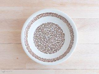Arabia Marjanen スーププレート ブラウン