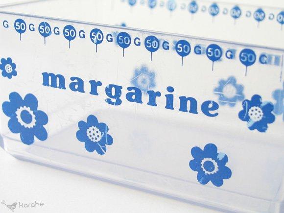 エリックコルド マーガリンケース ブルーフラワー / Erik Kold margarine(9040)
