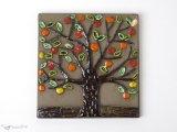 リンゴの木の陶板 / Jie Gantofta