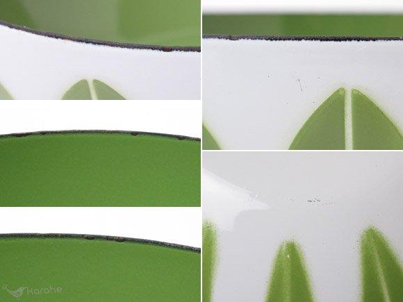 キャサリンホルム ロータス ボウル ホワイトxグリーン 20cm / Cathrineholm Lotus