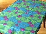 ヴィンテージ生地 緑・青・紫の柄