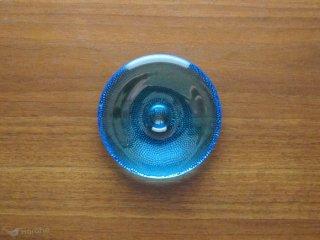 iittala Nappi キャンドルホルダー 12cm ブルー
