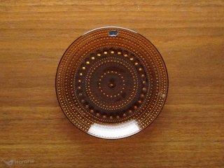 Nuutajarvi Arabia Kastehelmi カステヘルミ プレート 14cm ブラウン
