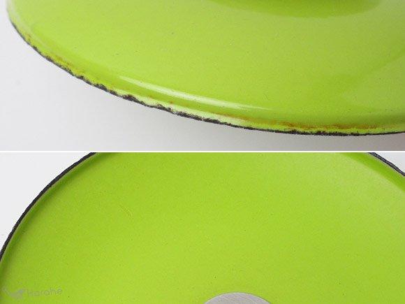 キャサリンホルム ロータス 片手鍋 16cm ホワイトxライムグリーン / Cathrineholm Lotus