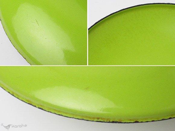 キャサリンホルム ロータス 片手鍋 18cm ホワイトxライムグリーン / Cathrineholm Lotus