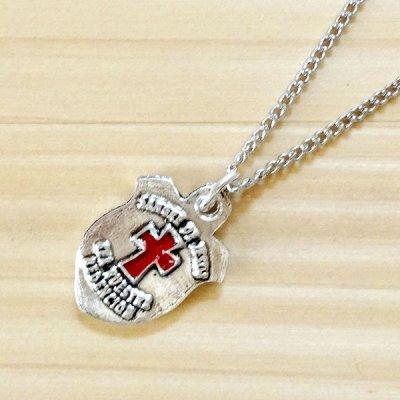 メキシコ ペンダントトップ十字架レッド(A)