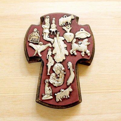 メキシコ 十字架ミラグロM(ピンク)