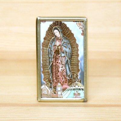 メキシコ マリアフレームスタンド真鍮S(F)