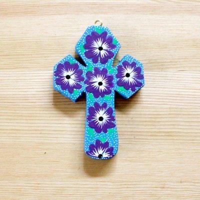 メキシコ 十字架アレブリヘS(ライトブルー)