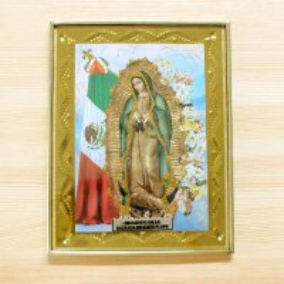 メキシコ 壁掛けマリアフレームM(B)