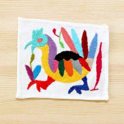 メキシコ オトミクロス刺繍S(V)