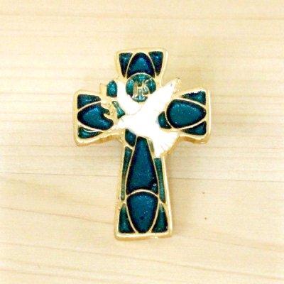 メキシコ 十字架トリピンバッチ