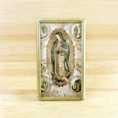 メキシコ マリアフレームスタンド真鍮S(D)