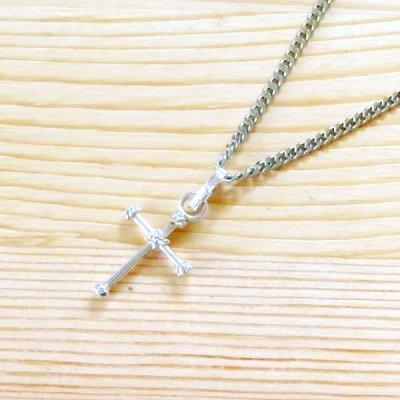 メキシコ ペンダントトップシルバー925(十字架)