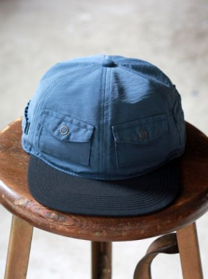 【Indietro Association】 Pocket cap -2色展開-