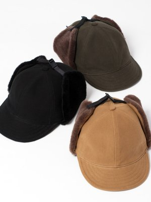 <img class='new_mark_img1' src='https://img.shop-pro.jp/img/new/icons20.gif' style='border:none;display:inline;margin:0px;padding:0px;width:auto;' />40%OFF【Racal】 Dog Ear Cap / ドッグイヤーキャップ -3色展開-