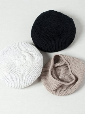 <img class='new_mark_img1' src='https://img.shop-pro.jp/img/new/icons20.gif' style='border:none;display:inline;margin:0px;padding:0px;width:auto;' />30%OFF 【Racal】Rasta Knit Beret (Japanese Paper) / ラスタニットベレー 和紙 -3色展開-