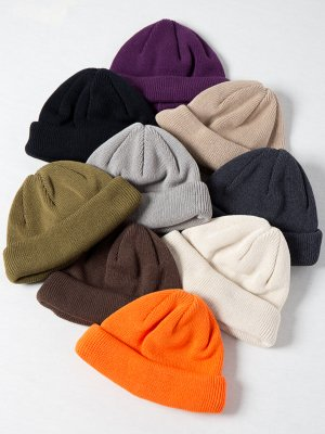 <img class='new_mark_img1' src='https://img.shop-pro.jp/img/new/icons15.gif' style='border:none;display:inline;margin:0px;padding:0px;width:auto;' />【Racal】Roll Knit Cap / L : CoolMax / ロールニットキャップ 裏地 : クールマックス -7色展開-